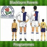 Blackburn Rovers Programmes