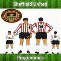 Sheffield Utd programmes