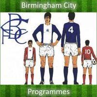 Birmingham City Programmes